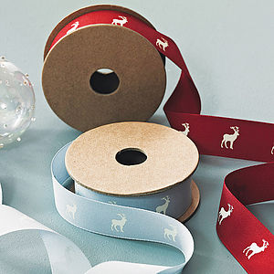Animal Design Ribbon Roll - christmas ribbon