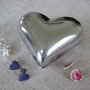 Heart Trinket Box - bedroom