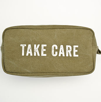 Take Care Mens Wash Bag