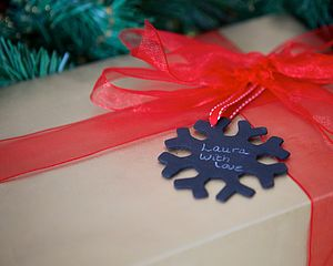 Mini Blackboard Tags - cards & wrap