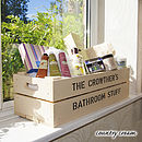 Personalised Crate - Windowbox Storage