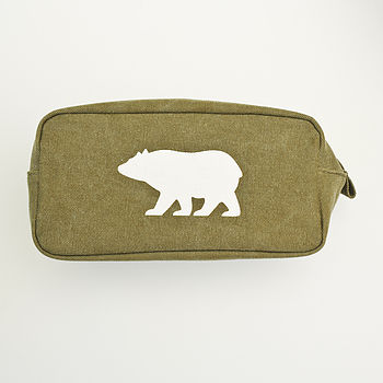 Bear Mens Wash Bag