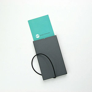 Aluminium Card Holder With Side Opening