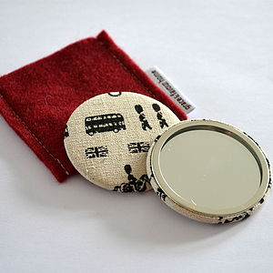 London Handbag Mirror - beauty accessories