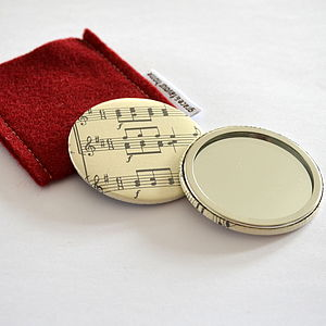 Vintage Music Mirror - beauty & pampering