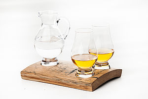 Glencairn Whisky Glass And Jug Holder Set