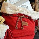Set Of Five Christmas Sacks