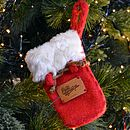 Set Of Five Christmas Sacks