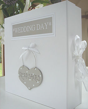 Wedding Keepsake Or Memory Box