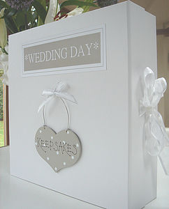 Wedding Keepsake Or Memory Box - albums & keepsakes