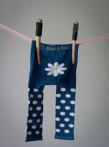 Daisy Baby Leggings - woodland trend