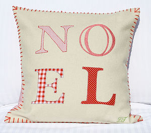 Noel Cushion 33% Off - embroidered cushions