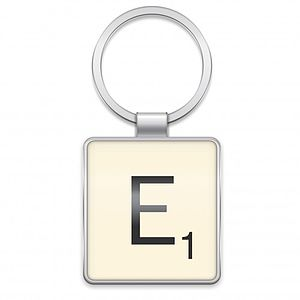 Scrabble Keyring Gift - for her