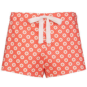 Cotton Pyjama Shorts - lingerie & nightwear