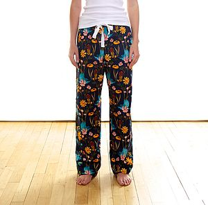 Bluebirds Organic Pyjama Trousers - women's fashion