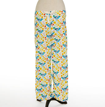 Songbirds Organic Cotton Pyjama Trousers