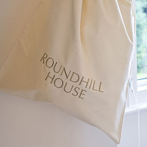 Personalised Laundry Bag - bedroom