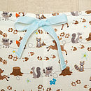 Forest Friends Brushed Cotton PJ Trouser