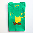 Moosetache Adult T Shirt