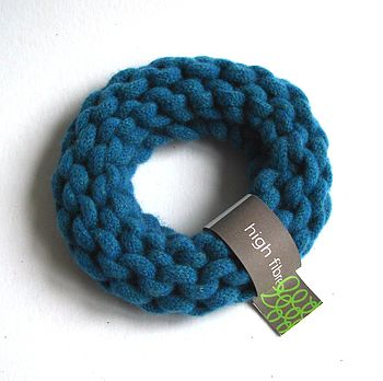 Chunky Knitted Bangle
