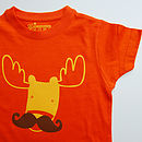 Child's Moosetache T Shirt