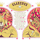 Clarence Tea Towel Or Cut And Sew Kit