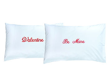 Valentine Be Mine Pillowcase Set