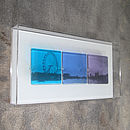 River Thames View Glass Picture
