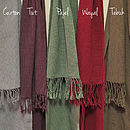Winter Wokola Scarf Colour Range