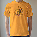 fossil t shirt gold