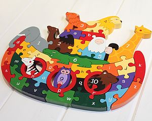 Animals Ark Alphabet Jigsaw