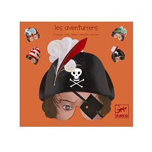 Pirate Adventurers Fancy Dress Play Masks
