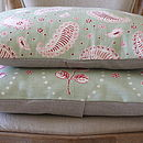 Cushion In Vanessa Arbuthnott Fabric