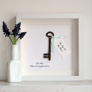Personalised 'The Key To…' - gifts for couples