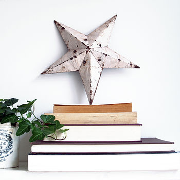Rustic Amish Barn Star Decoration