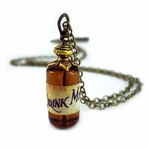Drink Me Bottle Necklace - gifts for teenage girls