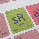 Giro D'Italia Periodic Table Art Print