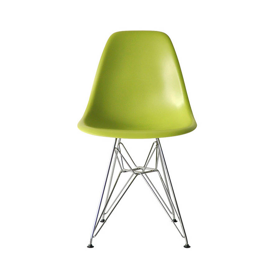 dining chair eames style eiffel chair by ciel notonthehighstreet
