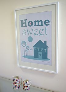 Home Sweet Home Print - art & pictures