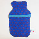 Popper Mini Hot Water Bottle_Blue & Purple