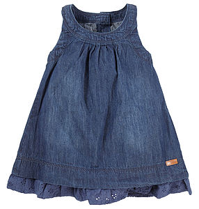 Agnete Denim Dress - clothing