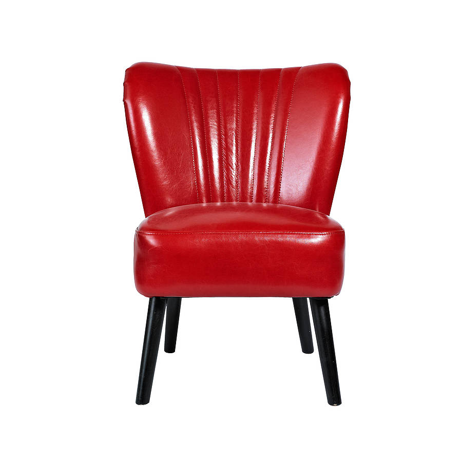 Cadillac Style Retro Chair By Bell Blue