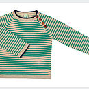 Boy's Stripe Wool Jumper
