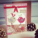 20 Personalised Bird Christmas Cards
