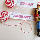Unique Personalised Tags With Lollies