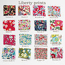 Liberty print swatches