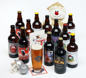 Case Of Christmas Ales - christmas parties & entertaining