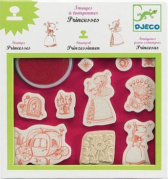 Girls Princess Stamps Kit