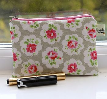 Provence Rose Cosmetic Bag