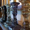 Pressed Glass Candlestick